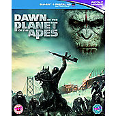 Dawn Of The Planet Of The Apes Blu-Ray + Digital HD UV