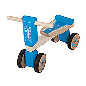 Bigjigs Toys Trike (Blue)