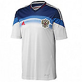 2014-15 Russia Away World Cup Football Shirt - White