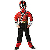 Child Power Ranger Costume (Red)