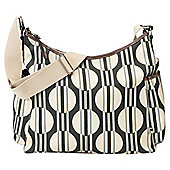 OiOi Changing Bag Sand Dot/Stripe