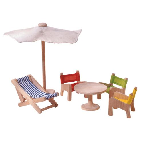 Plan Toys Patio Furniture Wooden Toy