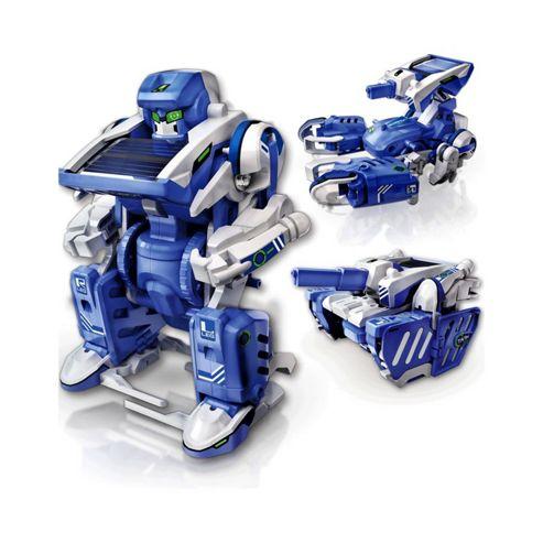 Transforming T3in1 Solar Robot