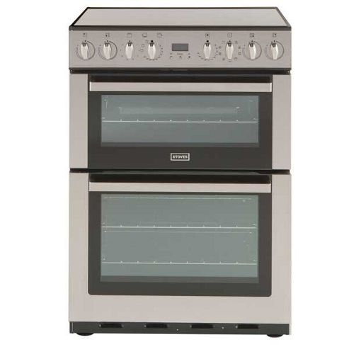 Stoves SEI60MFPGBDESTA 60cm Stainless Steel Electric Cooker Double Oven