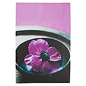 Purple Flower Canvas