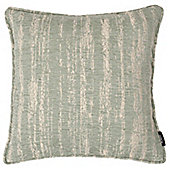 McAlister Duck Egg Textured Chenille Cushion Cover - 43x43cm