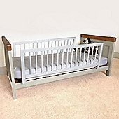 Safetots Double Sided Wooden Bedguard White