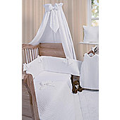 Clair De Lune Dimple 3 Piece Bedding Set