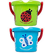 Gowi Toys Wildlife Bucket (Pack of 2 - Butterfly and Ladybird)