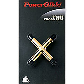 Powerglide Snooker / Pool / Billiards Brass Cross Rest