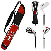 Red Spalding JuniorGolf Set, 7-10 Years