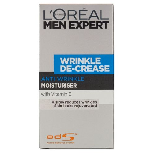 L'Oréal Men Expert Wrinkle De-Crease Moisturiser 50ml