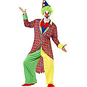 L.A Circus Clown - Adult Costume Size: 46-48