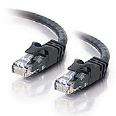 1m Cat6 550MHz Snagless Patch Cable Black: 83406