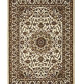 Think Rugs Regency Ivory/Beige Tranditional Rug - 80 cm x 140 cm (2 ft 8 in x 4 ft 7 in)