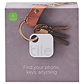 Tile the App, Phone/Key/Item Finder - 4 pack