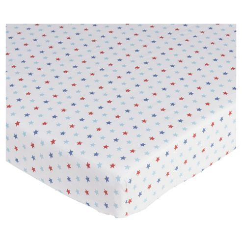 Cot Bed Fitted Sheets Tesco