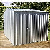 8ft x 10ft Premier Zinc Metal Shed 8 x 10 (2.26m x 3m) 8x10