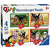 Bing Bunny - 4 in 1 Puzzle