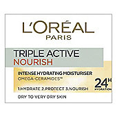 L'Oreal Paris Triple Active Nourish 50ml