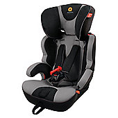 Apramo Hestia Car Seat, Group 1-2-3, Grey/Black