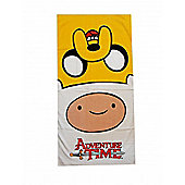 Adventure Time 'Jake & Finn' Printed Beach Towel