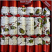 Robin Reed Crackers - Bows & Berries - 12 Inch - 12 Pack