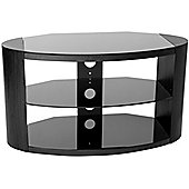 Peerless Portland 900 Stylish gloss black TV Stand
