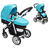 Mee-go Pramette Travel System Blue