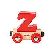 Bigjigs Rail BR126 Name Letter Z (Colours Vary)
