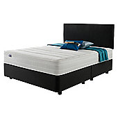 Silentnight Mirapocket 1200 Classic Non Storage Super King Divan Charcoal no Headboard
