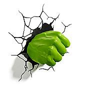 Philips Marvel Avengers Hulk Fist 3D LED Wall Light