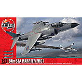 Airfix Bae Sea Harrier FRS1 1/72 Scale
