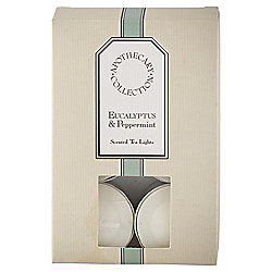 Tesco Apothecary Eucalyptus and Peppermint Tealights, Pack of 12