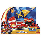 Blaze and the Monster Machines Blaze Transforming Turbo Launcher