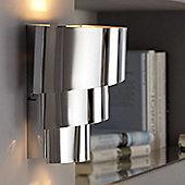 Wofi Divina 1 Light Wall Bracket - Chrome