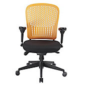 Enduro E-Last Mid-Back Task Chair - Orange