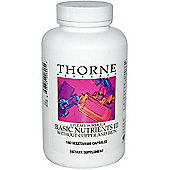 Thorne Research Basic Nutrients III W/O C u & Fe 180 Veg Capsules