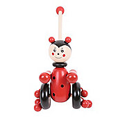 Bigjigs Toys BB079 Push Along (Ladybird)