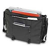 Wenger SwissGear Jett Messenger Bag (Black) for 16 inch Notebooks