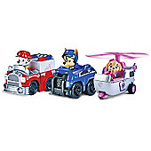 """Paw Patrol Racers Team Pack - Chase, Marshall & Skye"""