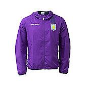 2013-14 Aston Villa Microfiber Travel Jacket (Purple) - Purple