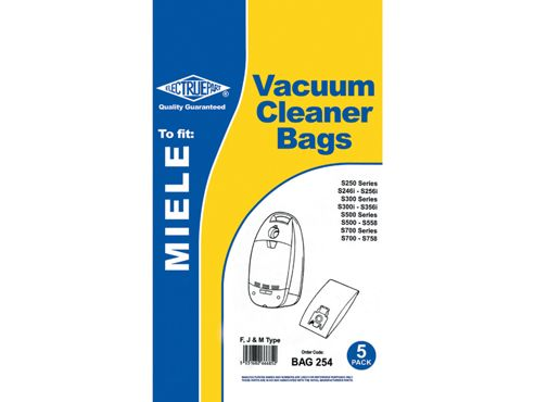 Connect Bag254 Dust Bag Miele S2461I S256I X5
