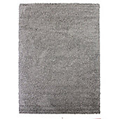 Frugs Snug 4cm Plain Rug Silver - 200X290 cm