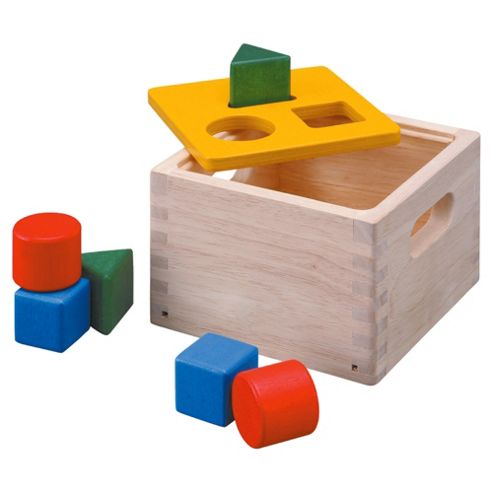 Plan Toys Shape and Sort It Out Wooden Toy