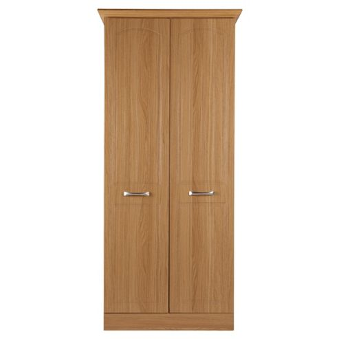 Tenby 2 Door Wardrobe, Oak Effect