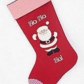 Ho Ho Ho Christmas Stocking