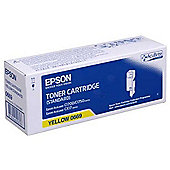 Epson AL-C1700/C1750/CX17 series - Standard Capacity Toner Cartridge Yellow - 0.7k