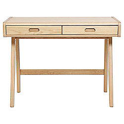 Stockholm Dressing Table/ Desk - Solid Oak