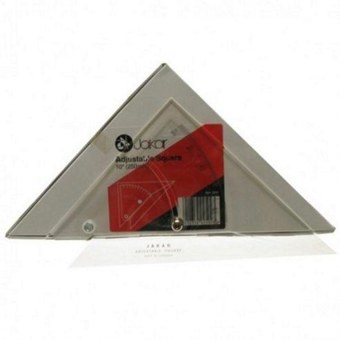 Jakar Adjustble Set Square 250mm (10 inch)